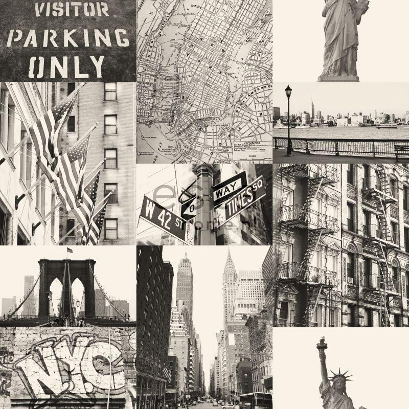 vliesbehang New York