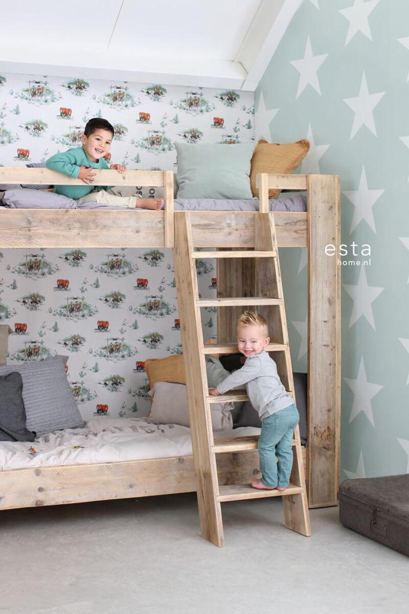 Behang Kinderkamer Stoer: Behang voor jongenskamer kek amsteredam ...