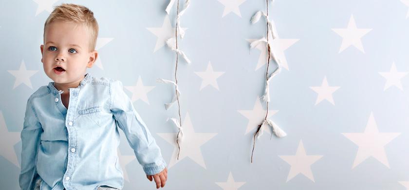 sterren behang