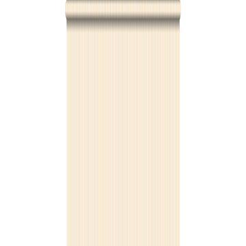 behang strepen beige