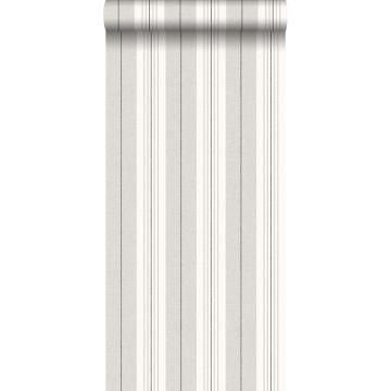 behang strepen grijs