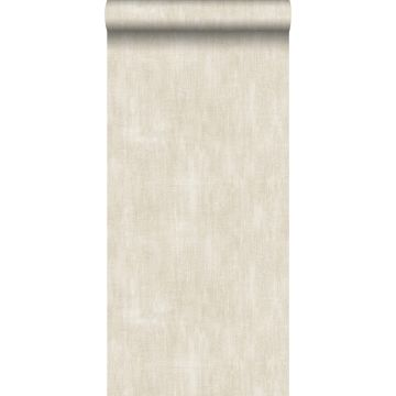 behang geschilderd effect bruin