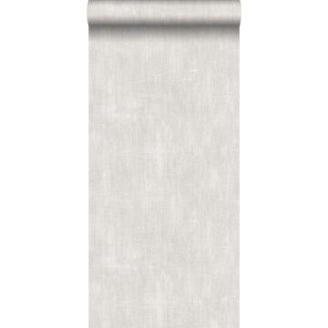 behang geschilderd effect grijs