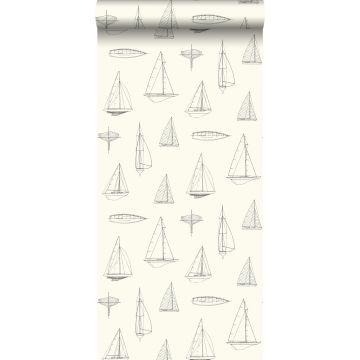 behang boten beige