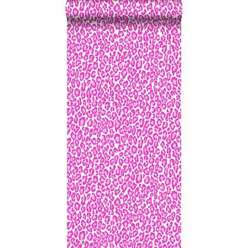 behang panters roze