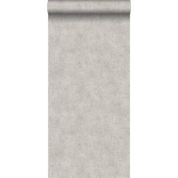 behang betonlook grijs