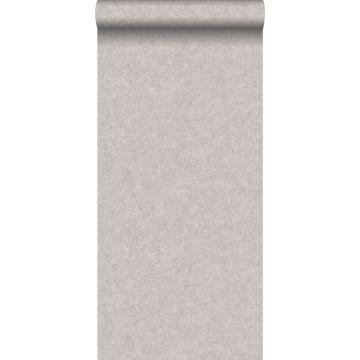 behang betonlook warm grijs