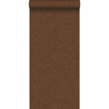 behang betonlook roest bruin