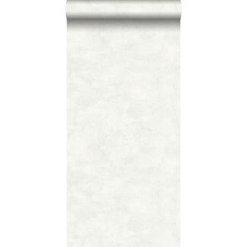behang betonlook licht warm grijs en mat wit