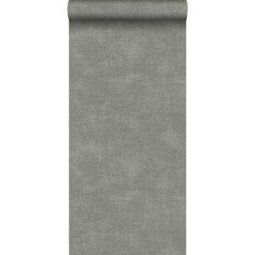 behang betonlook donkergrijs