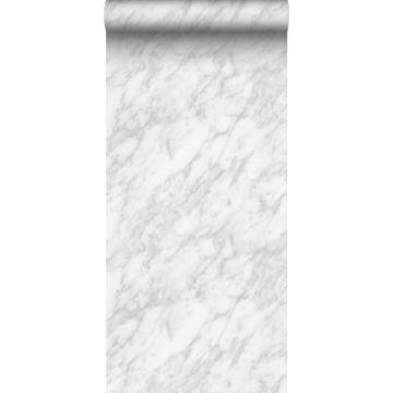 behang marmer wit en grijs