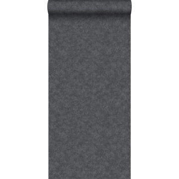behang effen zwart