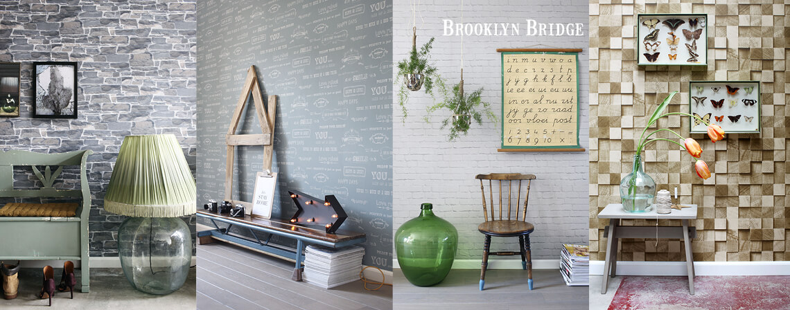 brooklyn tiles behang