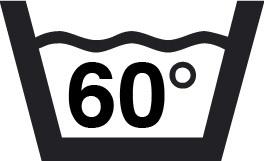 lavable à 60 degrés