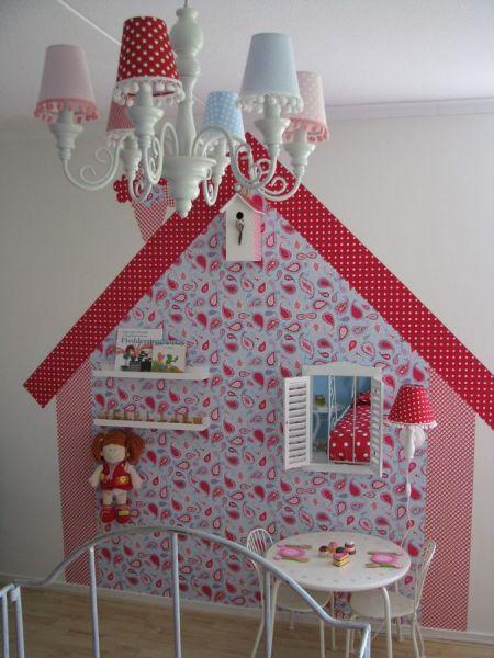 behang voor de meisjeskamer